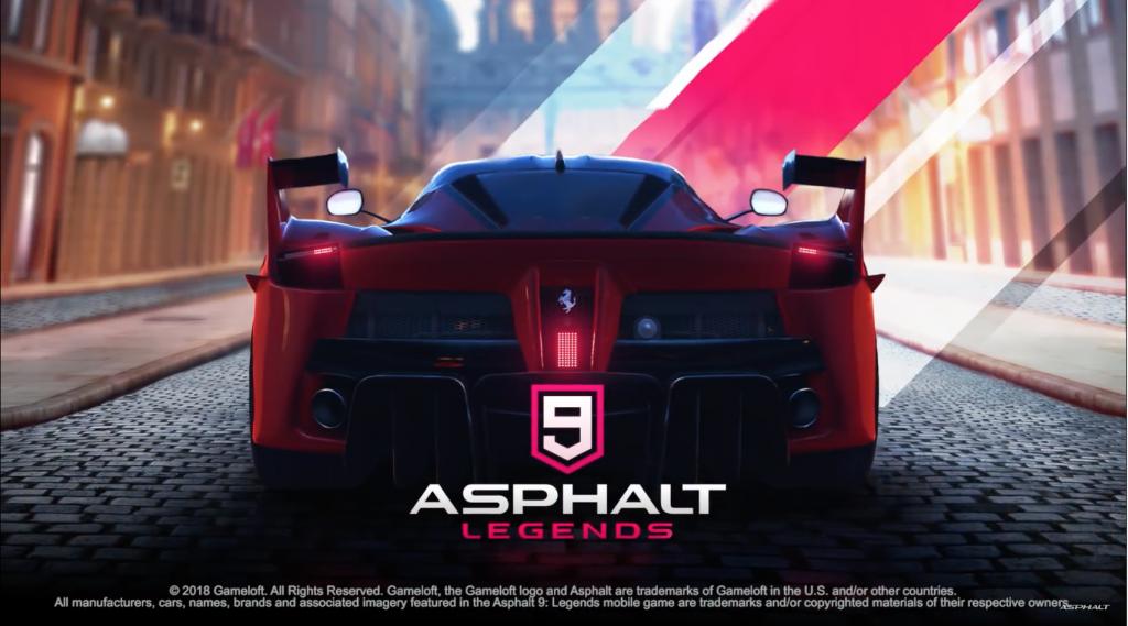 Asphalt 9 - Legends